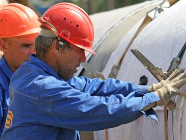 Работы на газопроводе