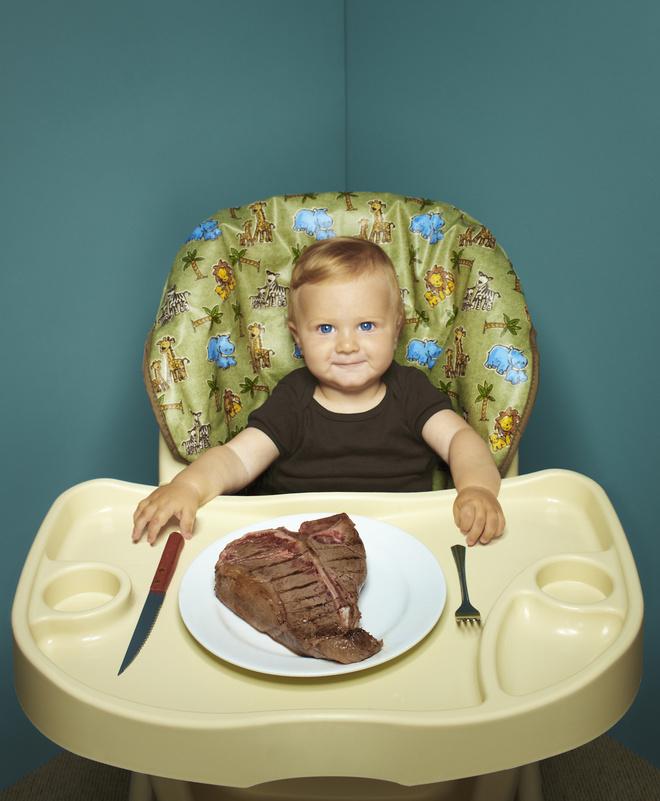 когда вводить мясо в прикорм ребенку