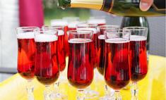 Шампанское: лучшие коктейли