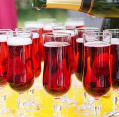 Шампанское: лучшие новогодние коктейли