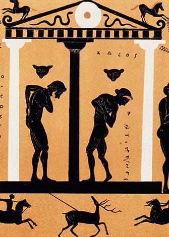 Античность: общественные бани