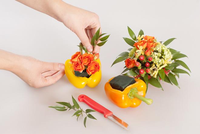 Композиции из цветов своими руками мастер класс