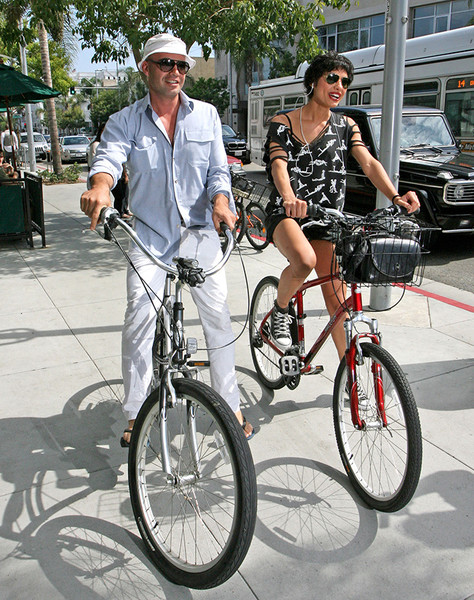 Билли Зейн со своей девушкой