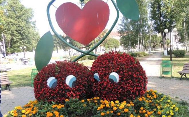Клумба цветы чебоксары