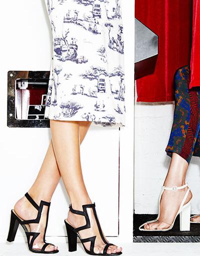 Туфли из плексиглаза, плетеные босоножки, слиперы - WDay.ru о самой модной обуви сезона лето-2013