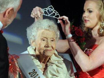 Конкурс красоты бабушек