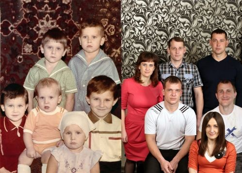 Двойные фотографии