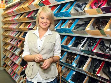 Одним из гостей на открытии магазина Payless ShoeSource стала Ирина Ортман
