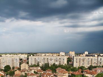 Облако над городом