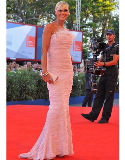 Матильда Брэнди (Matilde Brandi) на 69-ом Венецианском кинофестивале