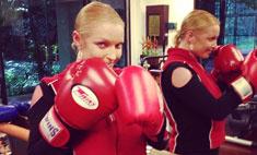 Анастасия Волочкова занялась боксом