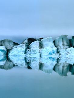 Наблюдение за льдами успокаивает и расслабляет