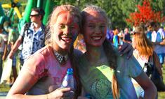 Фестиваль красок-2014 в Барнауле: первый фотоотчет