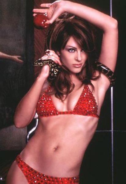 Но сцена в фильме «Ослепленный желаниями» вознесла Лиз в статус бикини-богинь