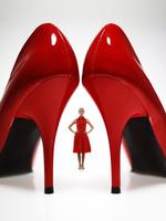Туфли на шпильке (12-14 сантиметров)