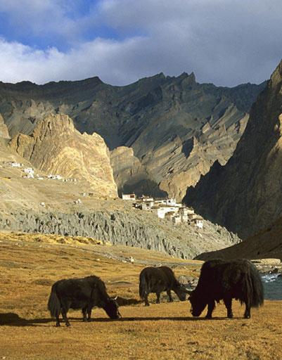 горные пейзажи Малого Тибета
