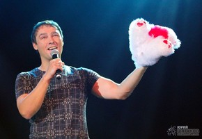 Юрий Шатунов на концерте в Москве
