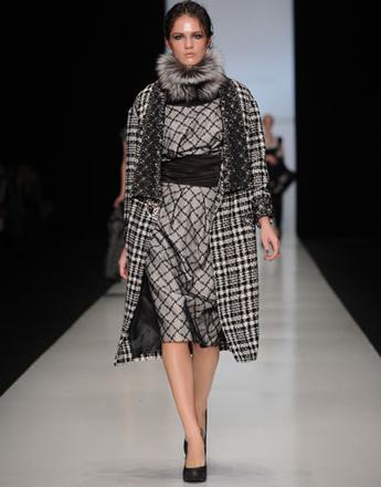 Показ коллекции Nikolay Krasnikov осень-зима 2013/14 Mercedes-Benz Fashion Week Russia