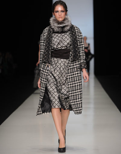 Показ коллекции Nikolay Krasnikov осень-зима 2013/14 Mercedes-Benz Fashion Week Russia