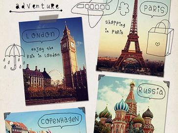 Лондон, Париж, Москва