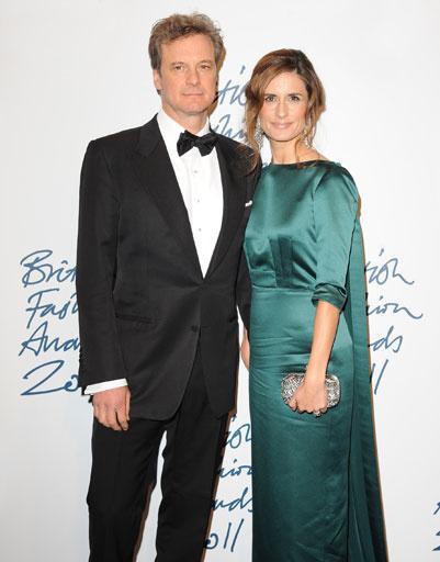 Колин Ферт (Colin Firth) с женой Ливией