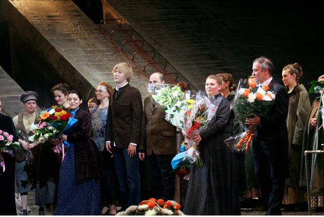 Василий Бархатов с благословения Валерия Гергиева (справа) поставил в Мариинке пять спектаклей.