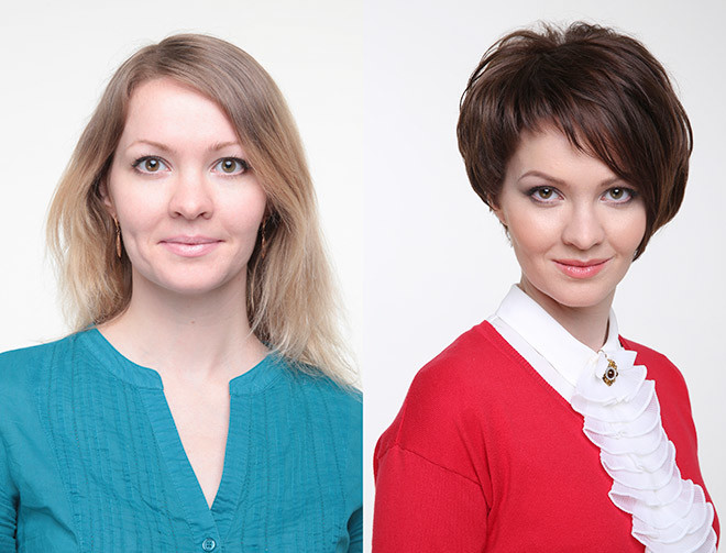 смена имиджа до и после фото