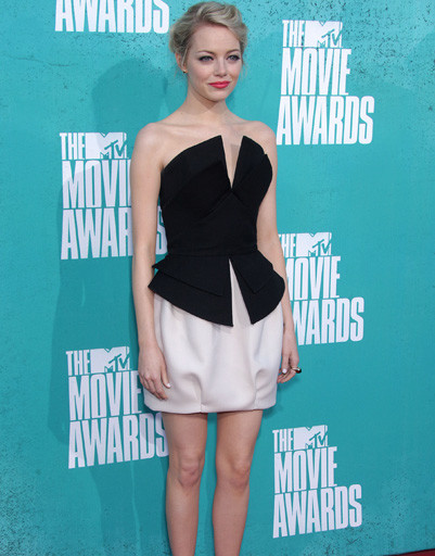 Эмма Стоун (Emma Stone) на MTV Music Awards 2012