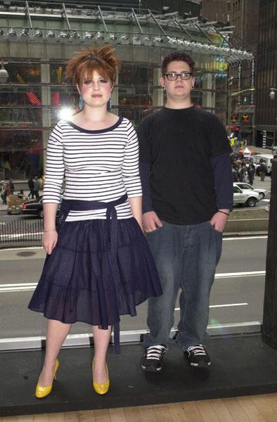 Келли Осборн с братом Джеком, 2002 год