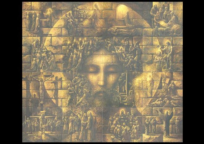 лик Христа, Столбичи, Владислав Коваль