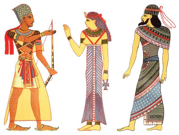 Какую одежду носили в Древнем Египте