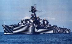 военные корабли красили кубическом стиле