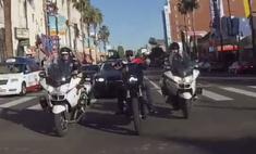 Тимати ездит по Лос-Анджелесу под конвоем