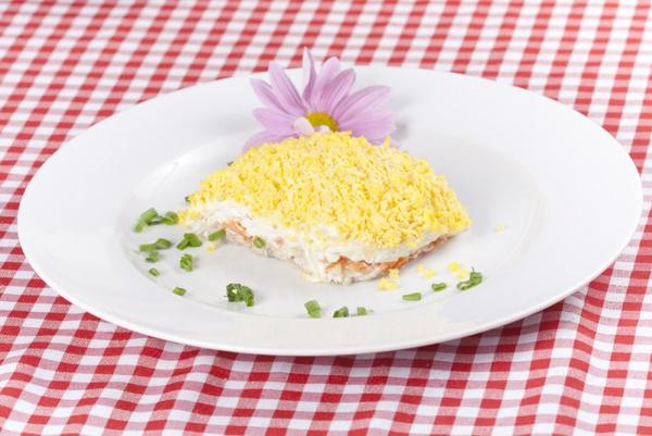 Салат мимоза: рецепт