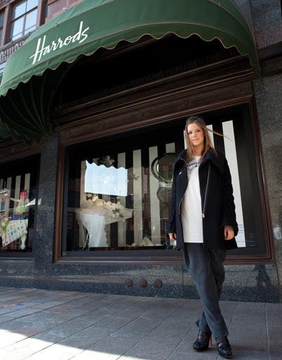 Кира Пластинина открыла магазин линии LUBLU Kira Plastinina в лондонском универмаге Harrods