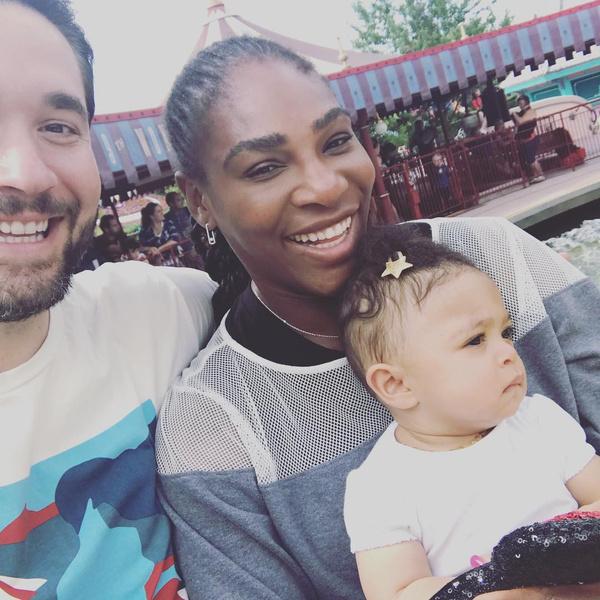 Серена Уильямс родила, последние новости 2018