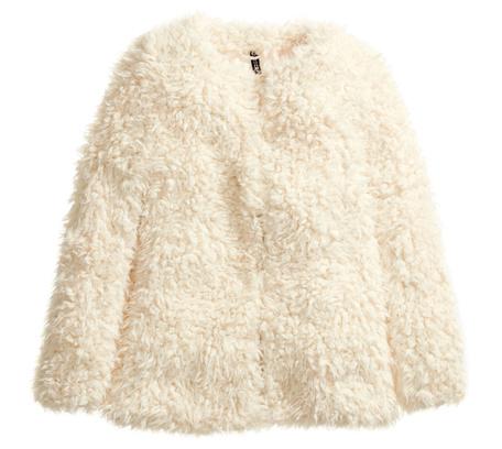 Пальто из искусственного меха H&M, 2499 р.