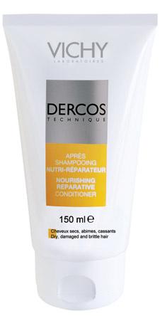 Питательно-восстанавливающий шампунь-крем, Vichy. Для сухих и поврежденных волос.