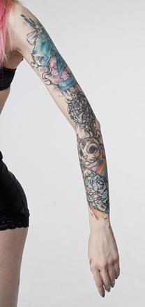 Алина Дин, Ural Tattoo Queen 2015