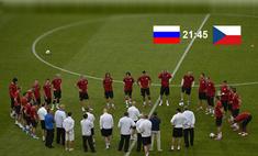 Первая победа в Евро-2012. Россия обыграла Чехию