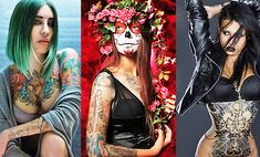 Тело как холст: самые яркие и экстравагантные девушки Казани
