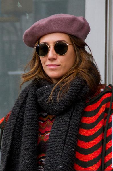 Как носить шапку зимой: фото