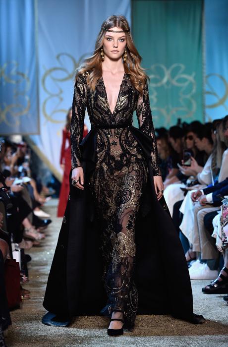 «Արևելյան հեքիաթ». Elie Saab-ը Փարիզում ներկայացրել է Haute Couture հավաքածուն (լուսանկարներ)
