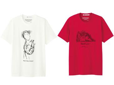 Коллекция футболок Uniqlo с принтами Тима Бертона