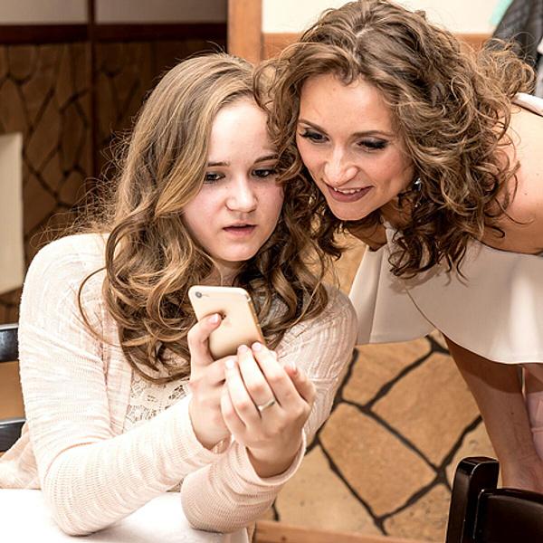 Татьяна с дочерью, фото