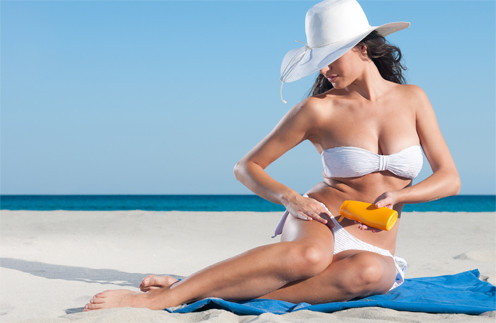 Солнцезащитные средства требуют регулярного повторного нанесения.
