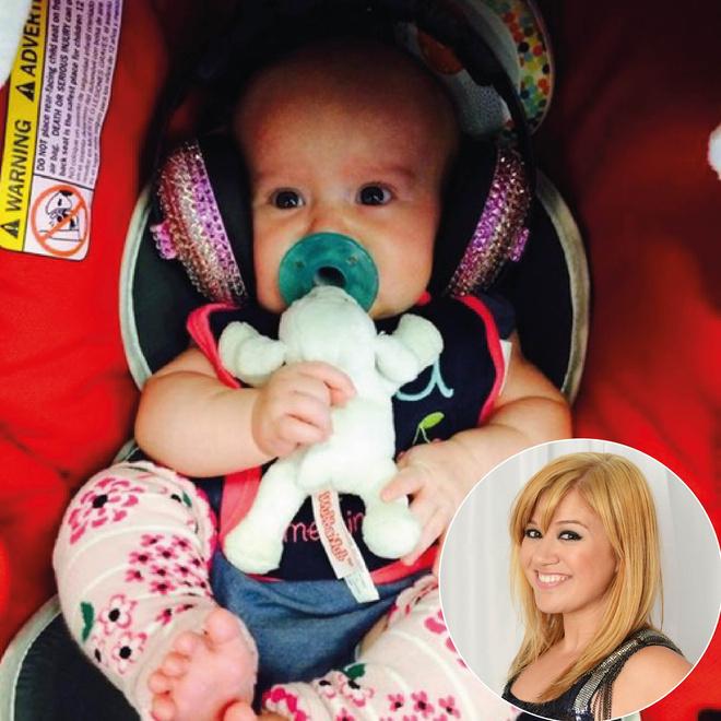 Келли Кларксон и ее дочь