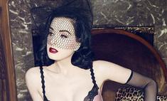 Секс-богиня: Дита фон Тиз снялась в рекламе нижнего белья