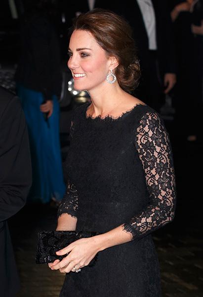 Кейт Миддлтон на Royal Variety Performance