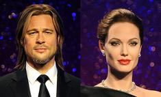 Музей мадам Тюссо представил новые фигуры Джоли и Питта